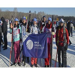 Энергетики встали на лыжи