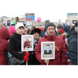 Активисты ОНФ на Ямале приняли участие в акции «Бессмертный полк»