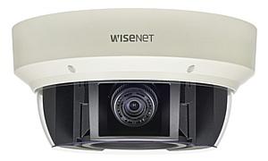 Новые IP камеры Samsung Wisenet панорамные, с обзором на 360°, мультисенсорные