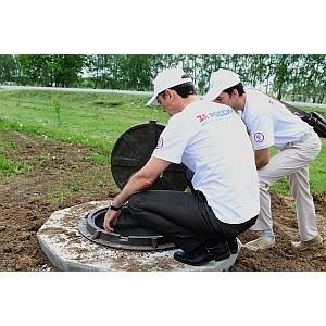 Белгородские активисты ОНФ решили проблему водоснабжения для нескольких домовладений в с. Ольховатка