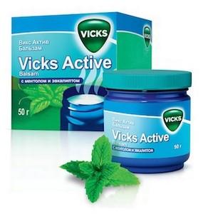 Vicks Active Ѕальзам Ц столетие заботы о здоровье