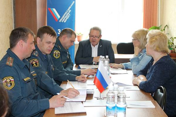 Активисты ОНФ выступили на совещании с представителями МЧС в Сибири, на Урале и Дальнем Востоке