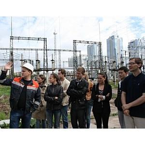 МЭС Северо-Запада провели экскурсию для студентов СПбГПУ
