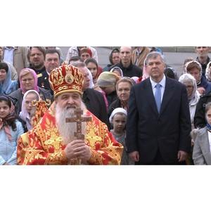 Кинокомпания «Союз Маринс Групп» посетила праздник в честь обретения мощей преподобного Давида