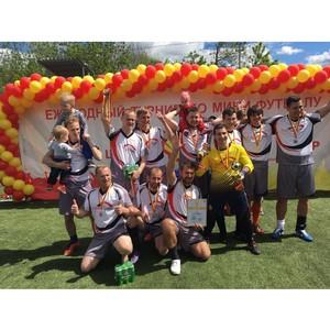 Команда «Альянс Тракс» завоевала второе место в кубке «Шелл» по мини-футболу