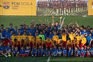 Лучшие футболисты сезона посетили FC Barcelona