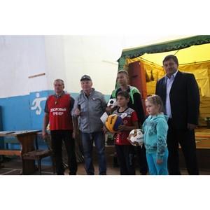 При участии активистов ОНФ в Курганской области прошли межпоселковые соревнования