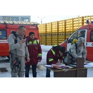 На Черниговском отделении ПАО «САН ИнБев Украина» завершились пожарно-спасательные учения