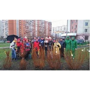СРО «МиР» приняла участие в весеннем субботнике