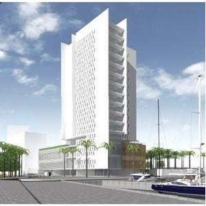 Продается участок под строительство отеля 4* на 1 линии от моря в Барселоне