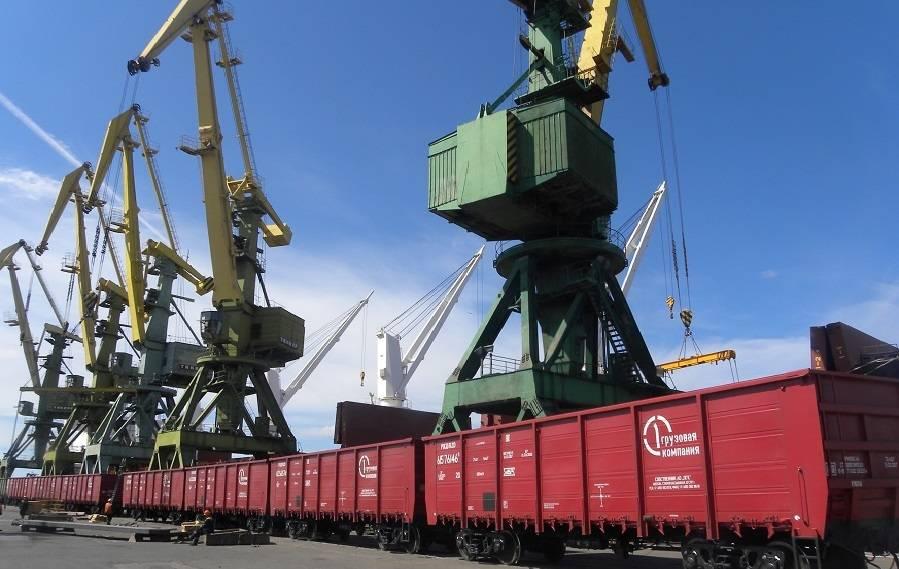 ПГК на 12 часов сократила протой вагонов в Морском порту Санкт-Петербурга