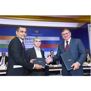 Президент АО «СГ-транс» Сергей Калетин принял участие в Российско-Индийском бизнес-саммите