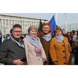 Амурские активисты ОНФ приняли участие в праздновании Дня воссоединения Крыма с Россией
