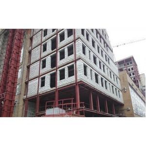 Легче бетона в 3 раза: технология надстройки здания РАМН на металлокаркасе