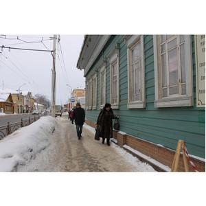 Эксперты ОНФ призвали власти Костромы организовать общественный контроль за уборкой улиц от снега