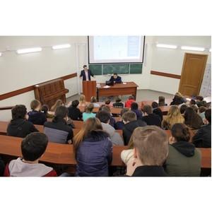 Активисты ОНФ рассказали студентам Ивановского химуниверситета о проектах Народного фронта