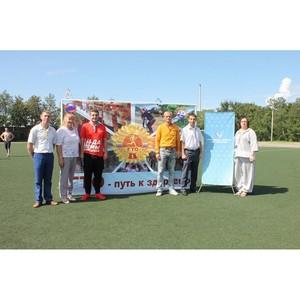 Активисты Народного фронта в Амурской области провели акцию «ГТО со звездой»