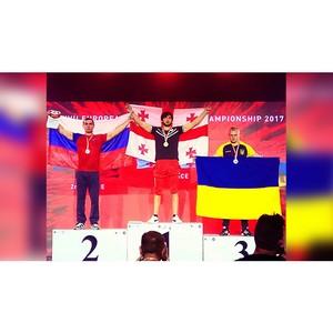 Спортсмен университета стал двукратным серебряным призером Европы
