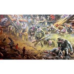 В «Галерее батальной живописи» иллюстрировали «Хроники Ливонии»