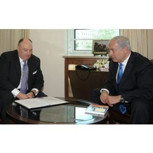 Состоялась встреча президента ЕЕК Вячеслава Кантора с премьер-министром Биньямином Нетаньяху