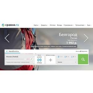 Сервис сравнения и выбора туров запускается на «Сравни.ру»
