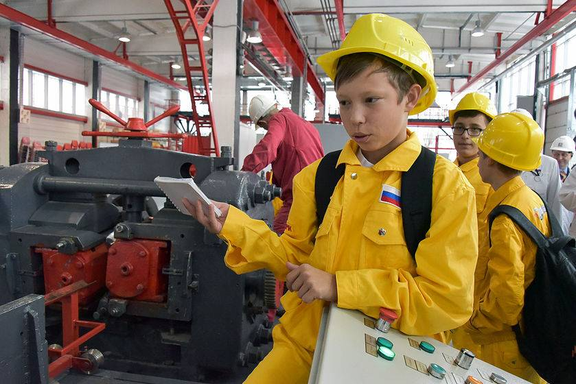 Опыт подготовки промышленных кадров