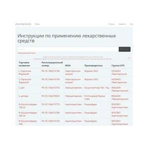 Портал по поиску лекарств в Казахстане Pharmprice обновляет функционал