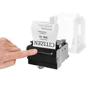 Citizen выпускает сверхпрочный встраиваемый принтер для киосков с защитой от вандализма