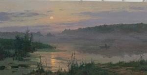 Передвижник Станислав Брусилов провел  мастер-класс для пекинских художников