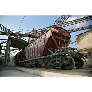 Ростовский филиал ПГК увеличил погрузку цемента за 6 месяцев 2018 года