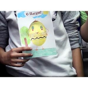«Молодежка ОНФ» провела в Мордовии мастер-класс для детей по изготовлению праздничных открыток