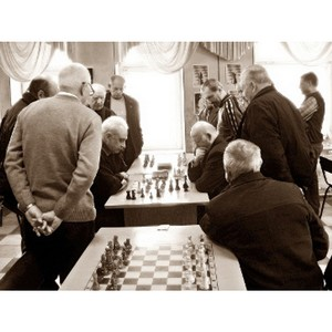 В Тамбове прошел шахматный турнир среди пенсионеров