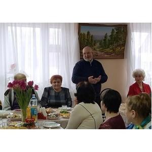 Владимир Семенов встретился с активом Совета ветеранов