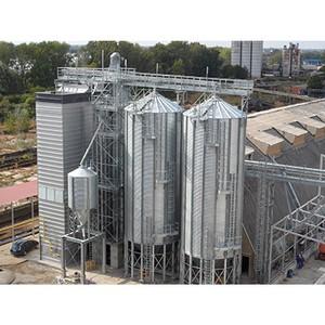 Шахтные зерносушилки Strahl - оборудование, которое впечатляет своей масштабностью