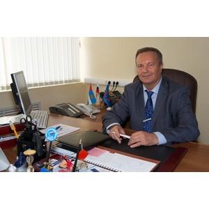 Поздравление Управляющего ОПФР по Калужской области М.П. Локтева с Новым годом