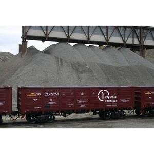 ПГК увеличила объем перевозок угля в I полугодии на Юге России