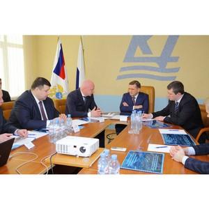 Нацрыбресурс представил Руководителю Росрыболовства проект рыбного кластера в Калининградской обл.