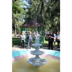 Благодаря помощи ОАО «Ивэнергосбыт» в ивановском парке восстановлен фонтан