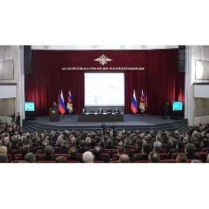 Участник кластера Глонасс представил разработку для ДПС на ежегодной коллегии в МВД России