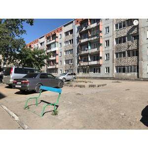 Команда «Молодежки ОНФ» в Туве проверила детские площадки