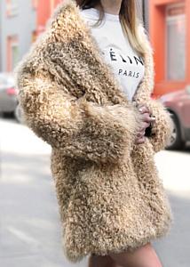 Шубы из калгана - новый тренд в одежде