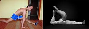 Авторская методика растяжки, стретчинга, развития гибкости - тренировки по Skype со скидкой