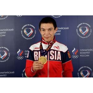 На церемонии награждения в Баку отметили успехи самбистов из Свердловской области