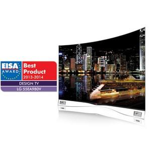 OLED-телевизор LG с изогнутым экраном получил награду EISA 2013 за инновационный дизайн