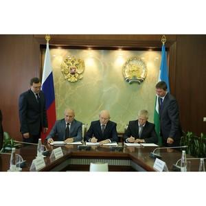 ѕодписано –еспубликанское соглашение между профсоюзами, союзом работодателей и ѕравительством –Ѕ.