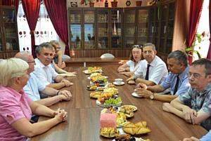 Казанский университет посетил эксперт ИКОМОС ЮНЕСКО господин Мунир Бушенаки