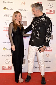«Девушка-праздник» Юлия Бали определила собственных победителей на премии журнала «Hello».