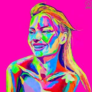 """Творческий проект Art of Future (Инновационная выставка неоновых картин в ресторане """"Облака"""")"""