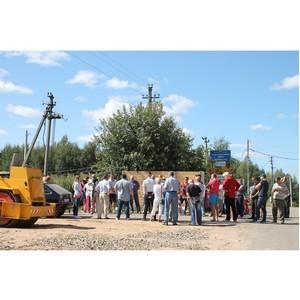 Ивановские активисты ОНФ встретились с жителями деревни, рядом с которой строят коттеджный поселок