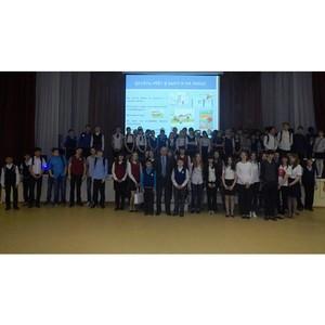 Красноярские энергетики напомнили детям о правилах электробезопасности